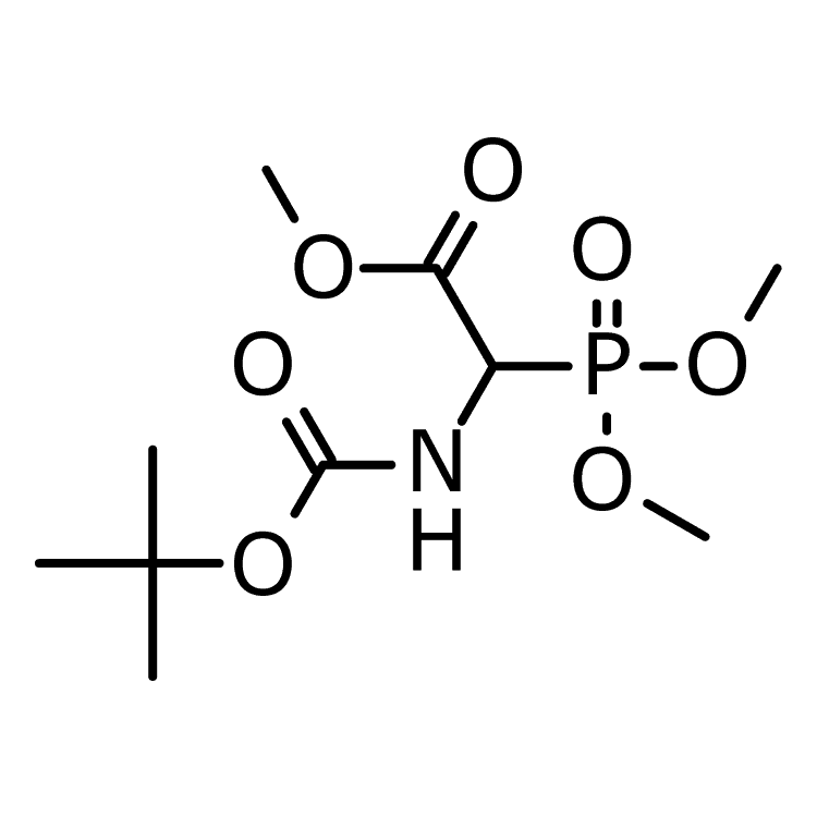 N-Butoxycarbonyl trimethylphosphonoglycine