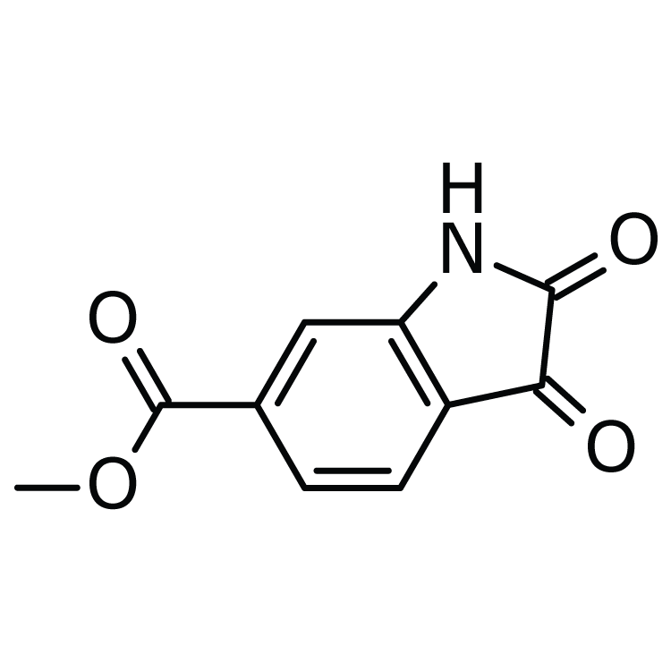 1H-Indole-6-carboxylic acid, 2,3-dihydro-2,3-dioxo-, methyl ester