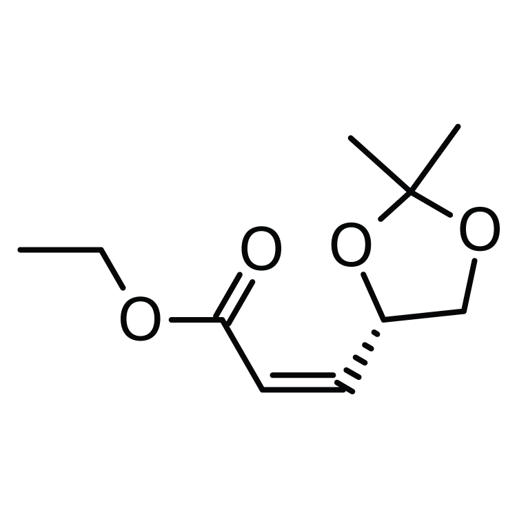 Ethyl (Z)-3-[(4S)-2,2-dimethyl-1,3-dioxolan-4-yl]prop-2-enoate