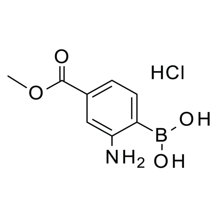 (2-Amino-4-(methoxycarbonyl)phenyl)boronic acid hydrochloride
