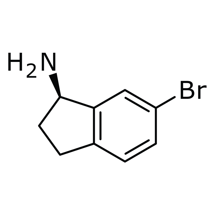 (1R)-6-Bromo-2,3-dihydro-1H-inden-1-amine