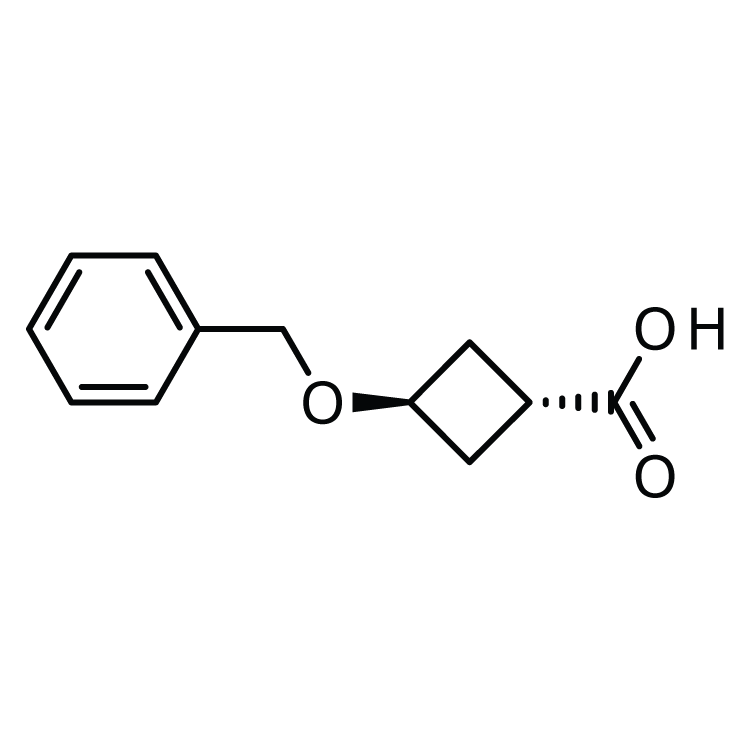 trans-3-Phenylmethoxy-1-cyclobutanecarboxylic acid