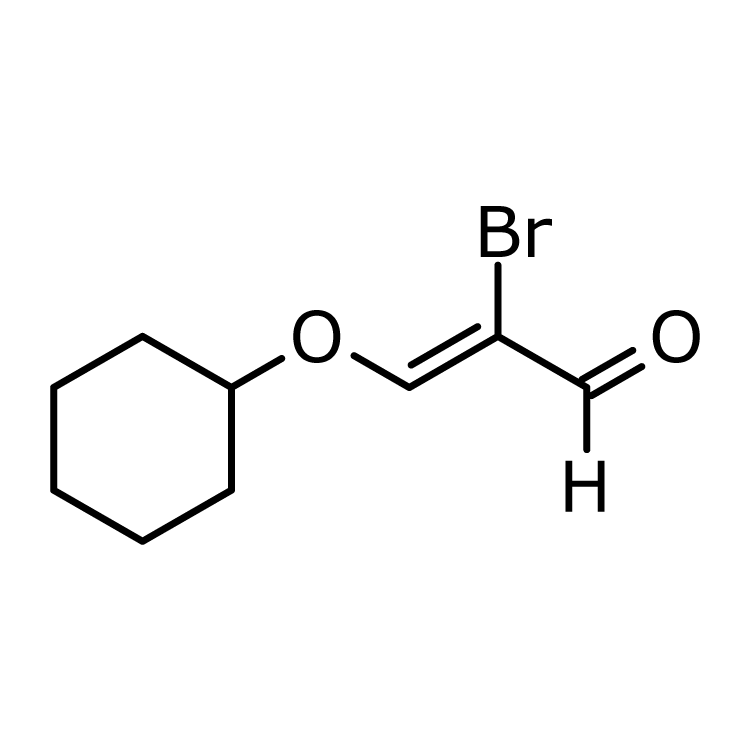 2-Bromo-3-(cyclohexyloxy)acrylaldehyde