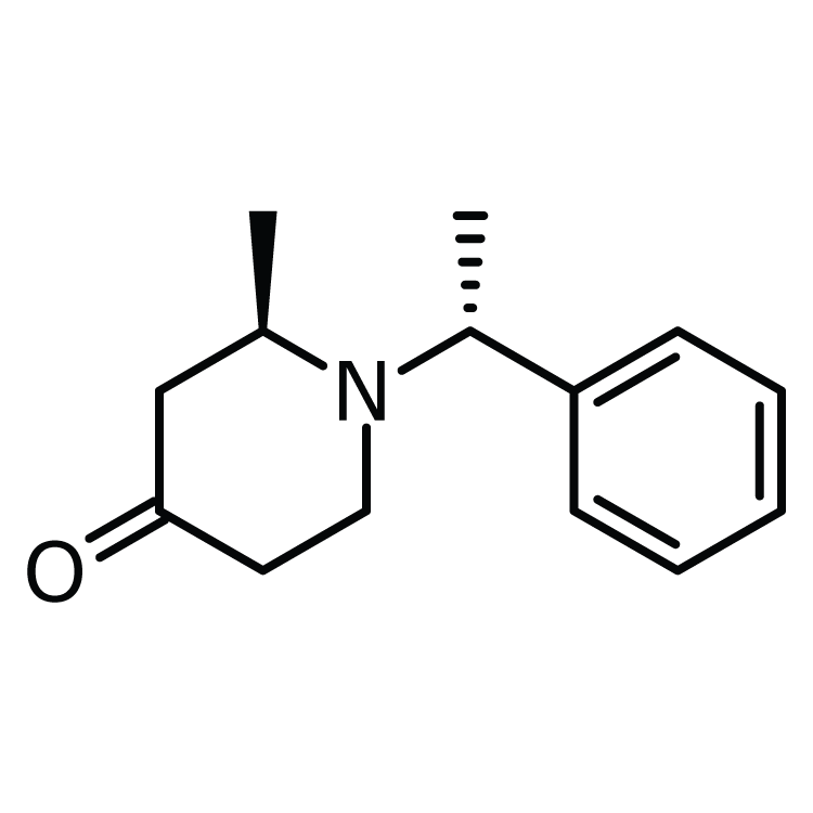 (S)-2-Methyl-1-((S)-1-phenylethyl)piperidine-4-one