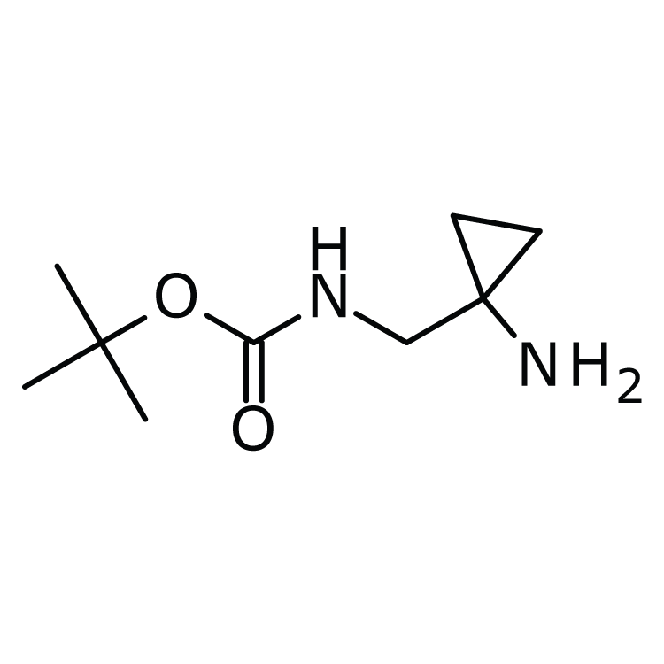 (1-Amino-cyclopropylmethyl)-carbamic acid tert-butyl ester