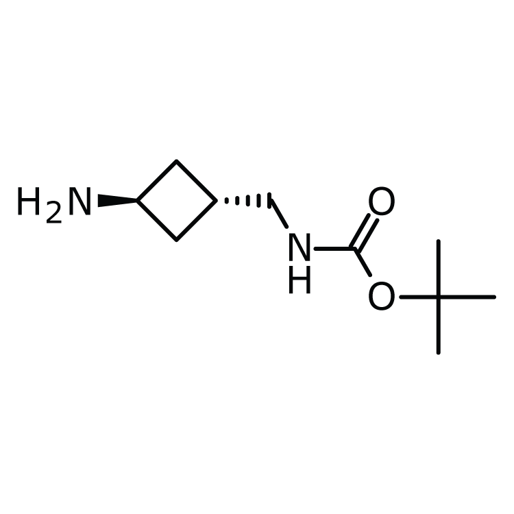 trans-3-(Boc-aminomethyl)cyclobutylamine