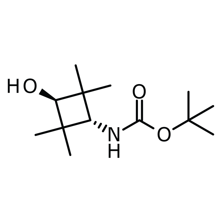 trans-tert-Butyl 3-hydroxy-2,2,4,4-(tetramethyl)cyclobutylcarbamate