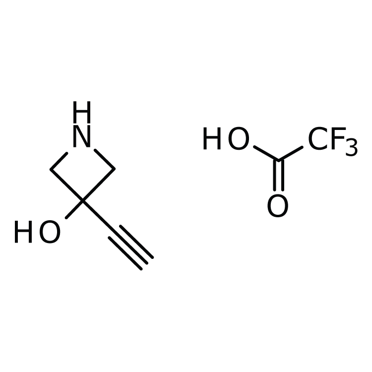 3-Ethynyl-3-hydroxyazetidine trifluoroacetate