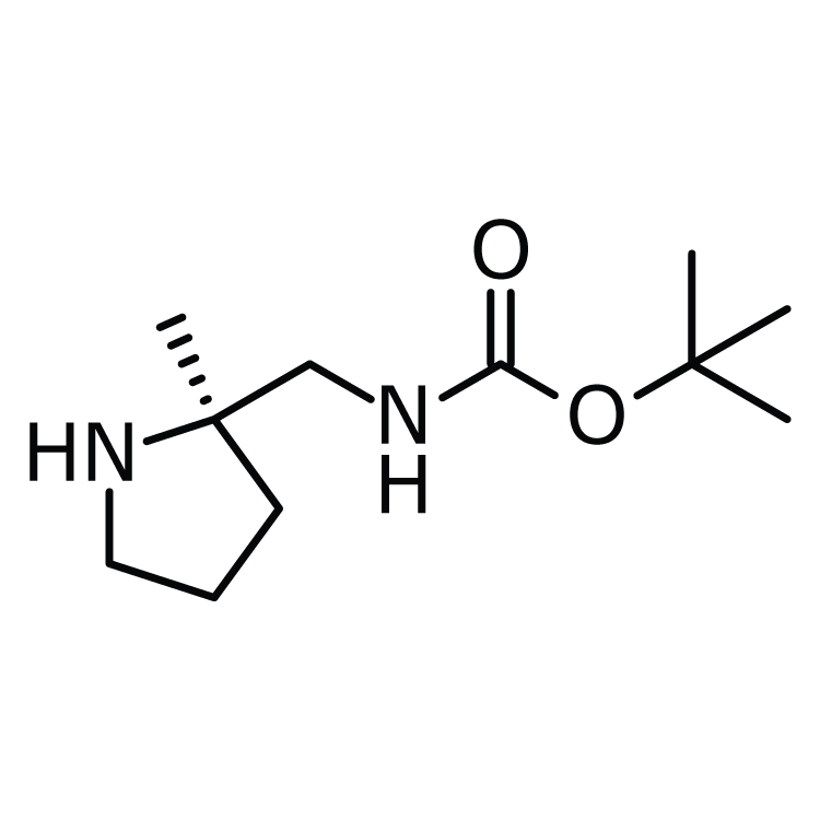 (2R)-2-(Boc-aminomethyl)-2-methylpyrrolidine