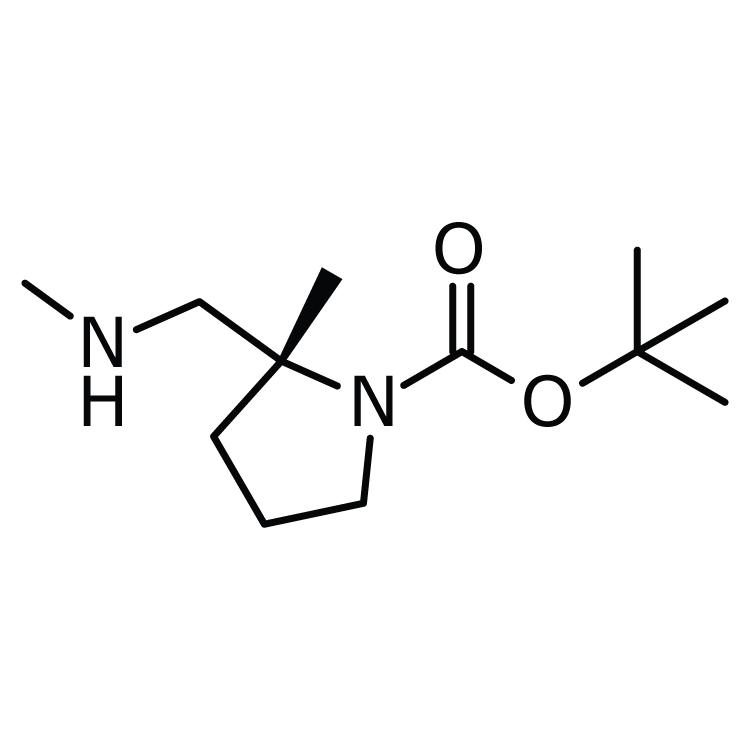 (2R)-1-Boc-2-methyl-2-(methylaminomethyl)pyrrolidine