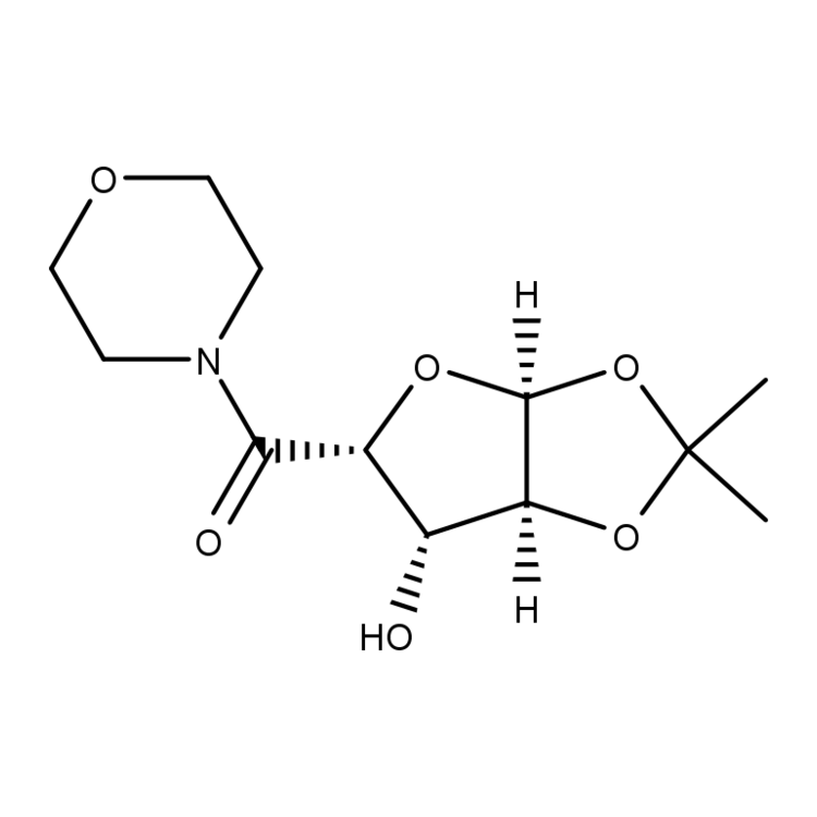 ((3AS,5R,6S,6aS)-6-hydroxy-2,2-dimethyltetrahydrofuro[2,3-d][1,3]dioxol-5-yl)(morpholino)methanone
