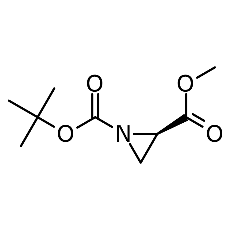 1-tert-butyl 2-methyl (2R)-aziridine-1,2-dicarboxylate