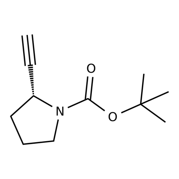 tert-butyl (2R)-2-ethynylpyrrolidine-1-carboxylate