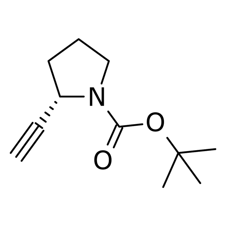 tert-butyl (2S)-2-ethynylpyrrolidine-1-carboxylate