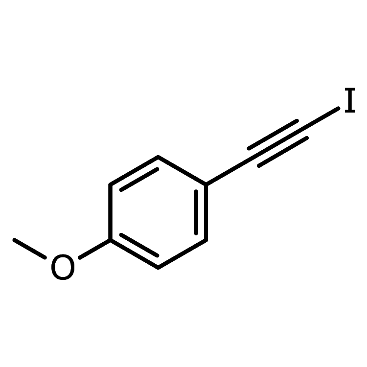 4-Methoxy-(2-iodoethynyl)benzene