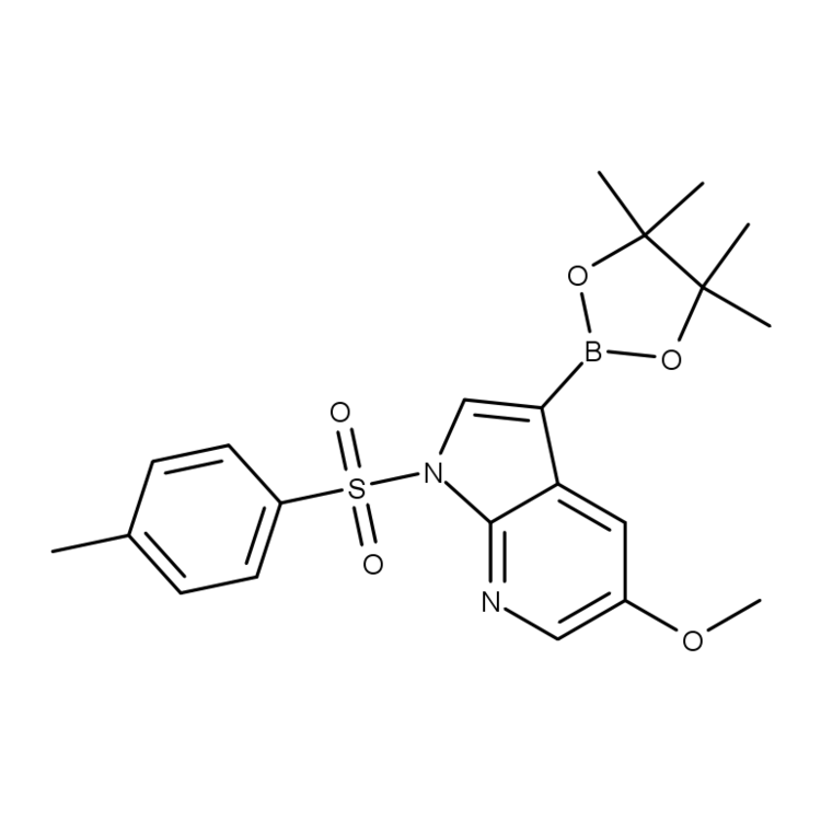 5-methoxy-1-tosyl-7-azaindole-3-boronic acid pinacol ester