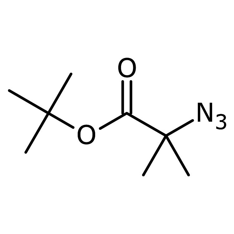 2-Azido-2-methylpropanoic acid-1,1-dimethylethyl ester