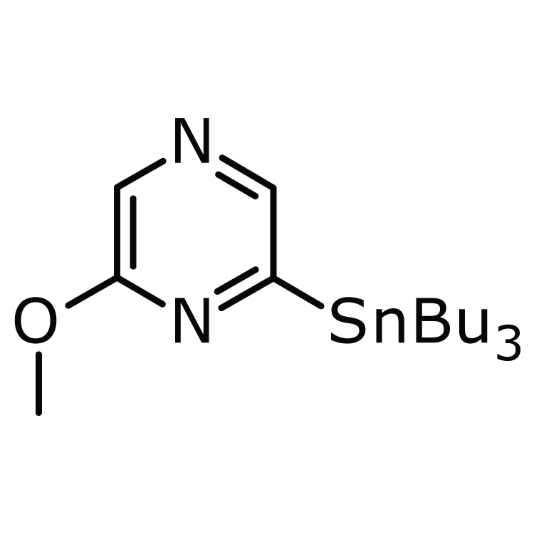 2-Methoxy-6-(tributylstannyl)pyrazine