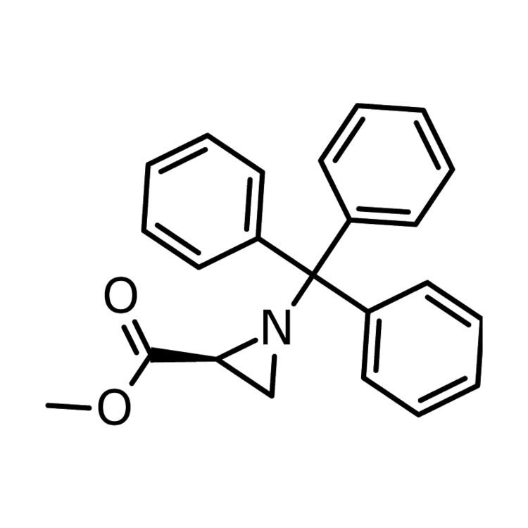 methyl (2s)-1-(triphenylmethyl)aziridine-2-carboxylate