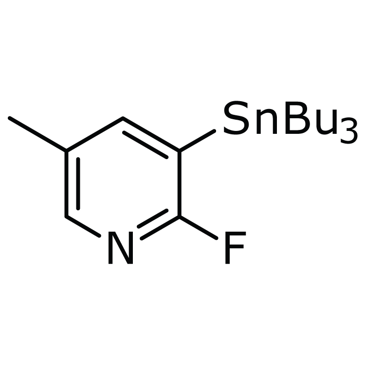 2-Fluoro-5-methyl-3-(tributylstannyl)pyridine