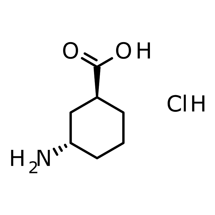 (1S,3S)-3-aminocyclohexane-1-carboxylic acid hydrochloride