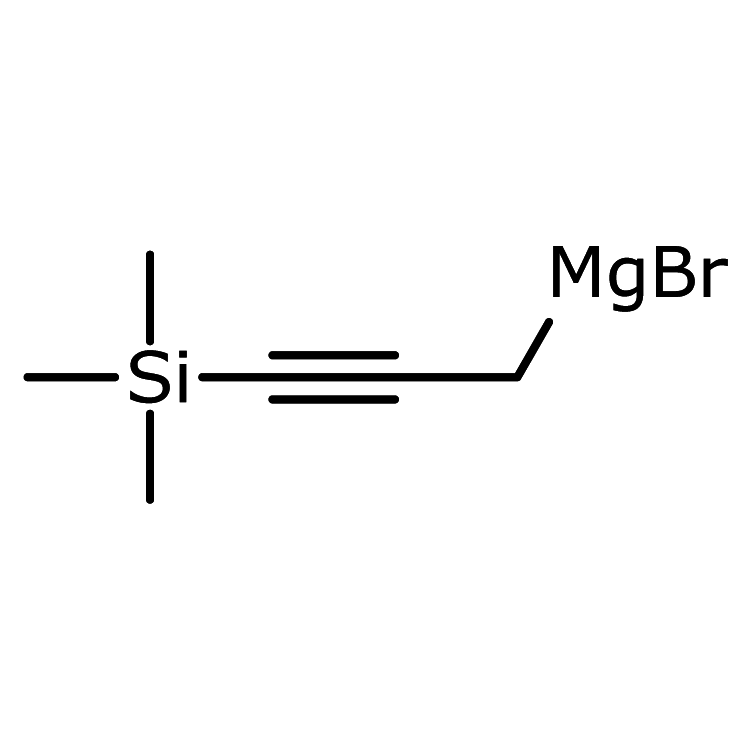 3-(Trimethylsilyl)propynylmagnesium bromide, 0.50 M in 2-MeTHF