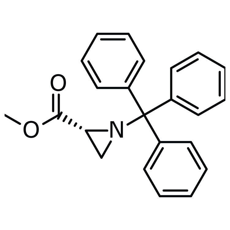 Methyl (2R)-1-(triphenylmethyl)aziridine-2-carboxylate