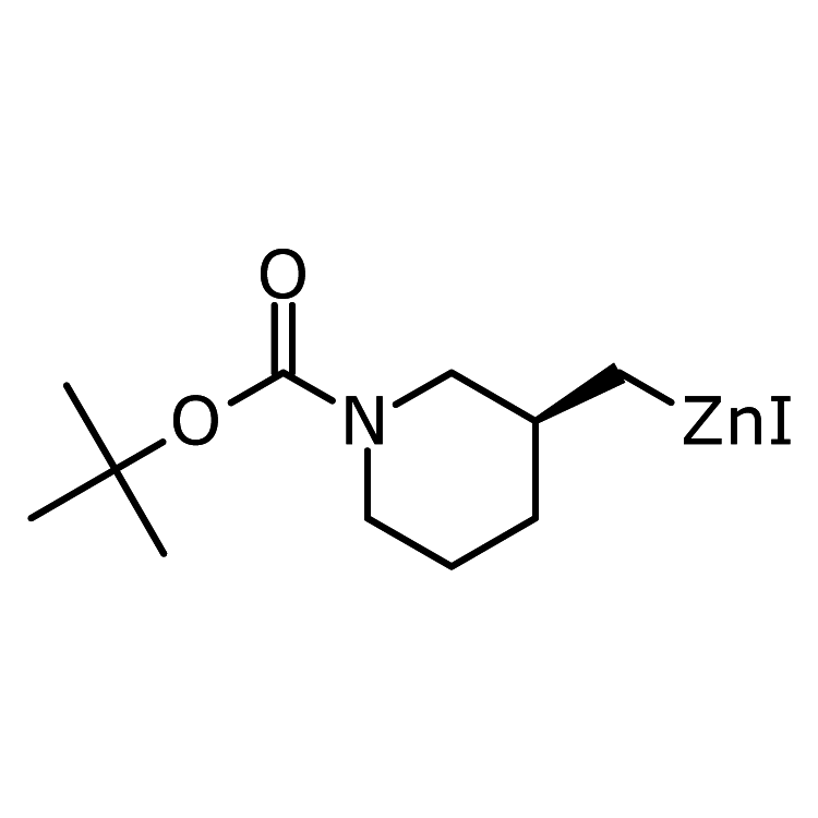 [(3S)-1-tert-Butoxycarbonyl-3-piperidyl]methylzinc iodide, 0.5M in THF