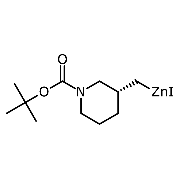 [(3R)-1-tert-Butoxycarbonyl-3-piperidyl]methylzinc iodide, 0.5M in THF