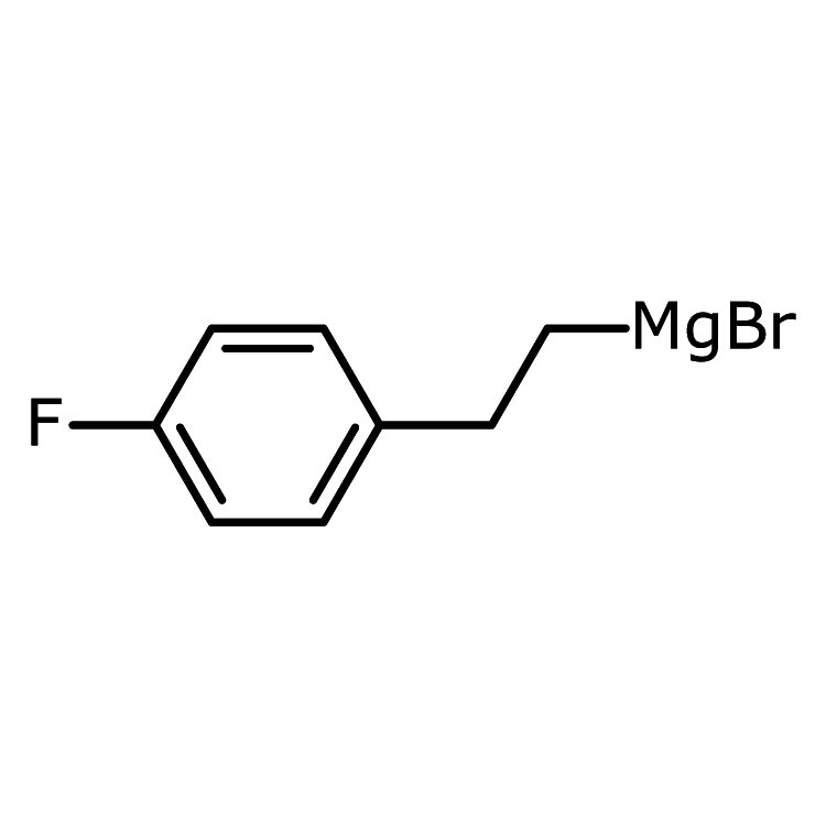 [2-(4-Fluorophenyl)ethyl]magnesium bromide, 0.5 M in THF