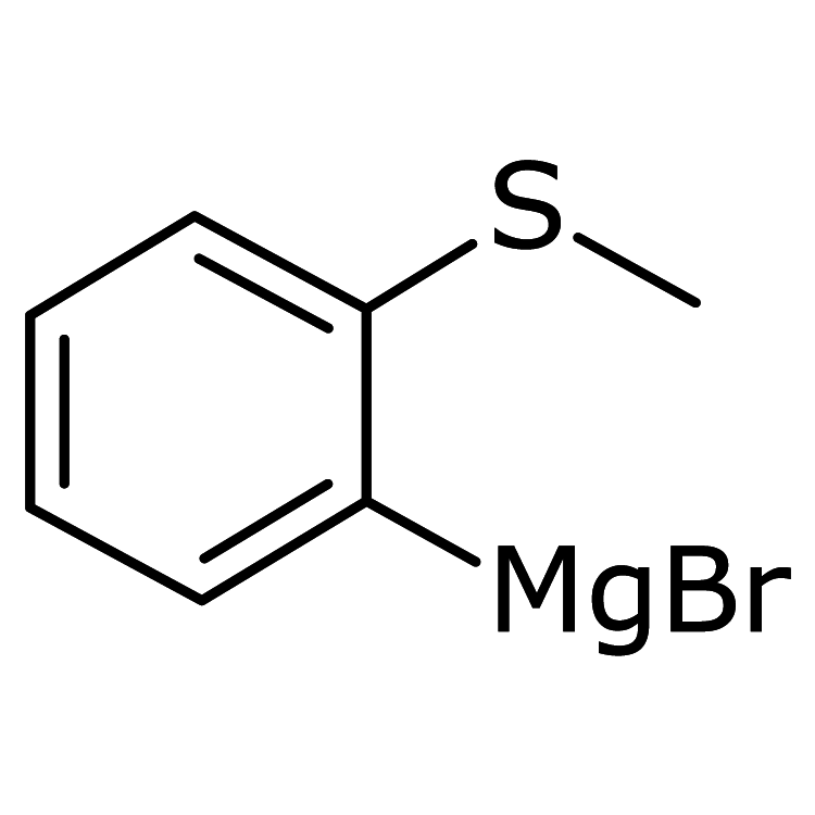 2-(Methylsulfanyl)phenylmagnesium bromide, 0.5M in THF