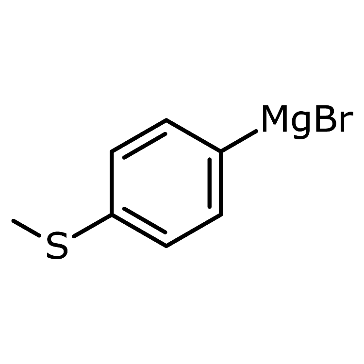 4-(Methylsulfanyl)phenylmagnesium bromidee, 0.5 M in THF