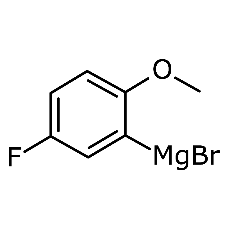5-Fluoro-2-methoxyphenylmagnesium bromide, 0.5 M in THF