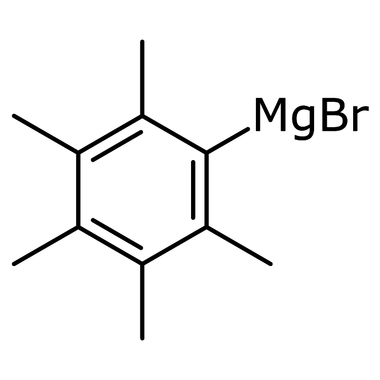 2,3,4,5,6-Pentamethylphenylmagnesium bromide, 0.5 M in THF