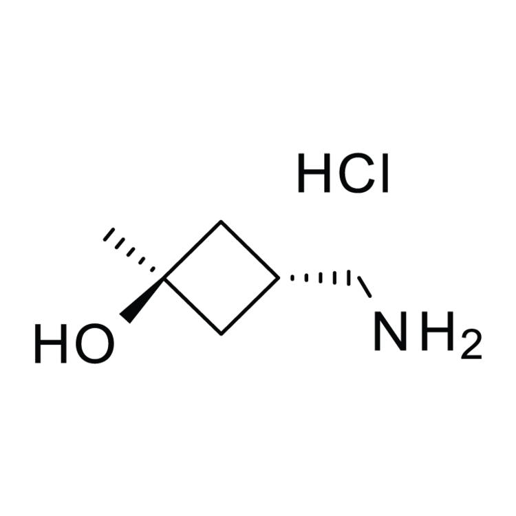 trans-3-Hydroxy-3-methylcyclobutane-1-methamine hydrochloride