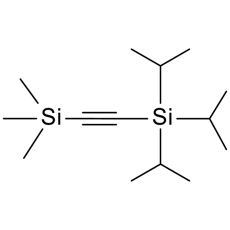 Triisopropyl(2-trimethylsilylethynyl)silane