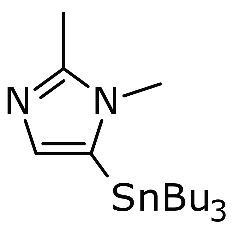 1,2-Dimethyl-5-(tributylstannyl)imidazole