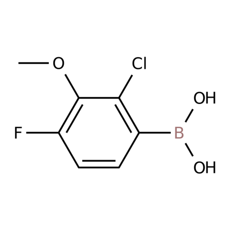 (2-Chloro-4-fluoro-3-methoxyphenyl)boronic acid