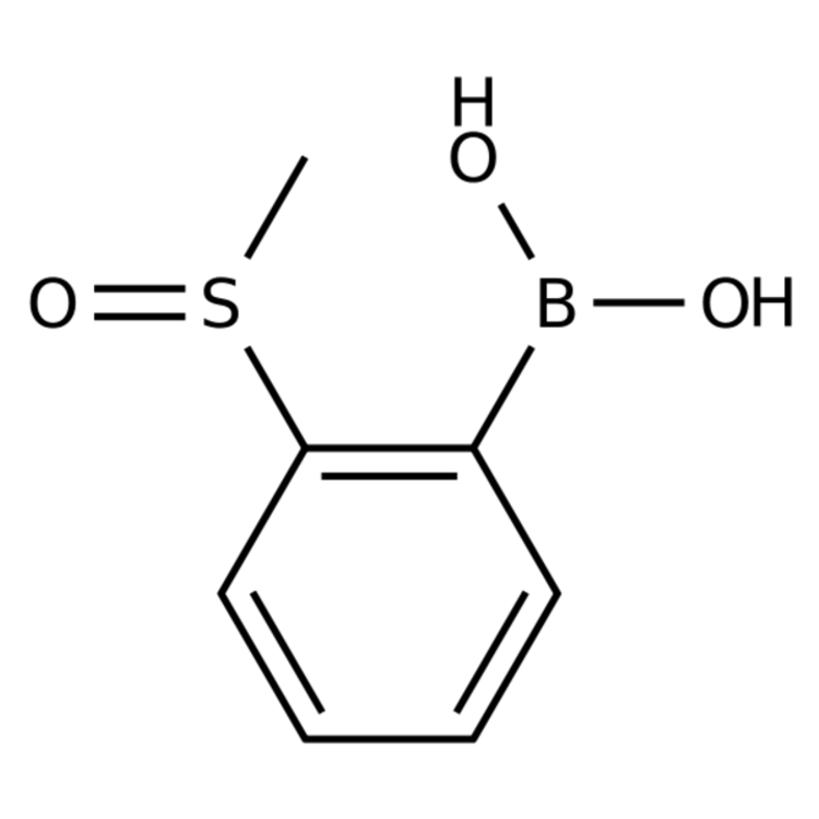 2-(Methylsulfinyl)phenylboronic acid