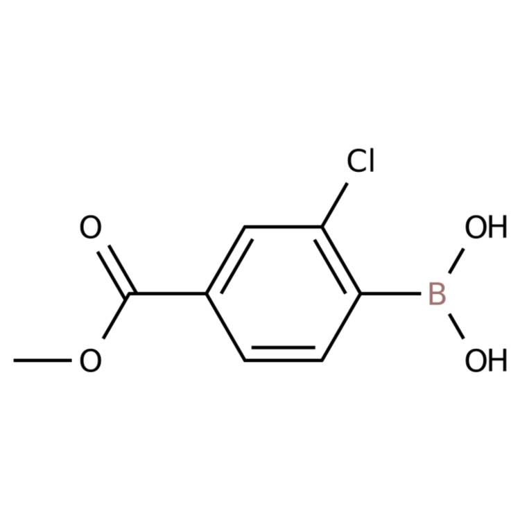(2-Chloro-4-(methoxycarbonyl)phenyl)boronic acid