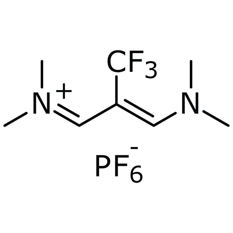 2-[Trifluoromethyl]-1,3-bis[dimethylamino]trimethinium hexafluorophosphate