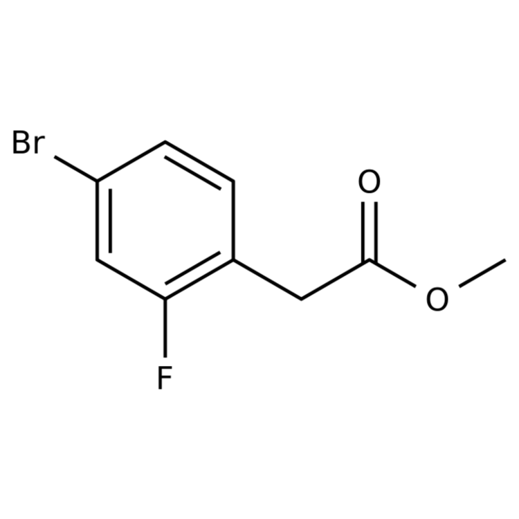 Methyl 2-(4-bromo-2-fluorophenyl)acetate