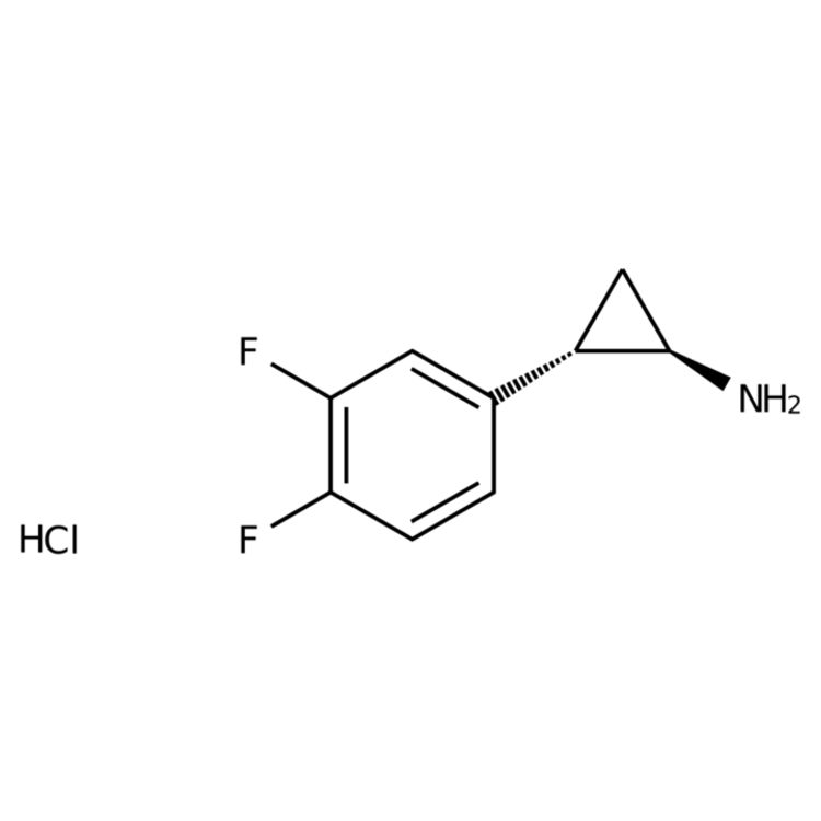 (1R,2S)-rel-2-(3,4-Difluorophenyl)cyclopropanamine hydrochloride