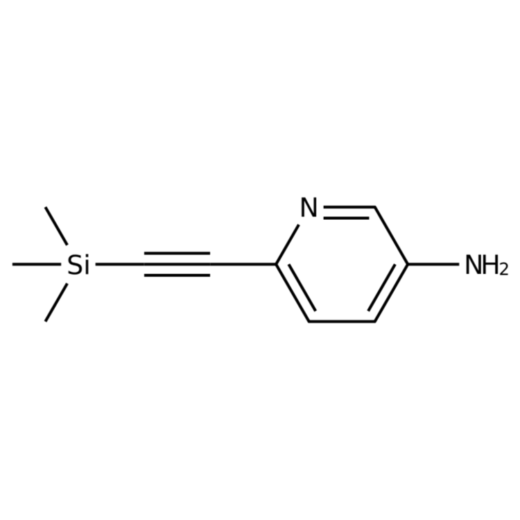 6-((Trimethylsilyl)ethynyl)pyridin-3-amine