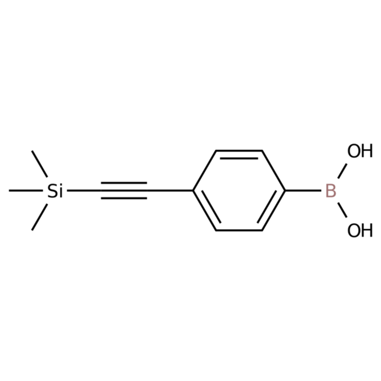 (4-((Trimethylsilyl)ethynyl)phenyl)boronic acid