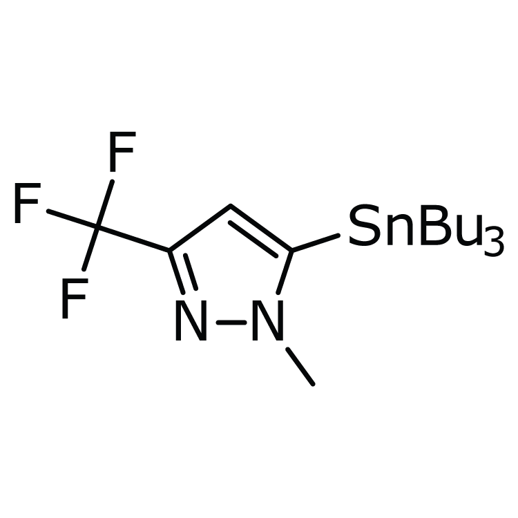 1-Methyl-5-(tributylstannyl)-3-(trifluoromethyl)-1H-pyrazole