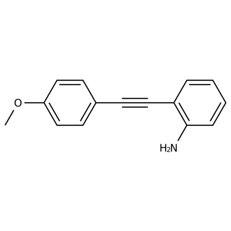 2-((4-Methoxyphenyl)ethynyl)aniline