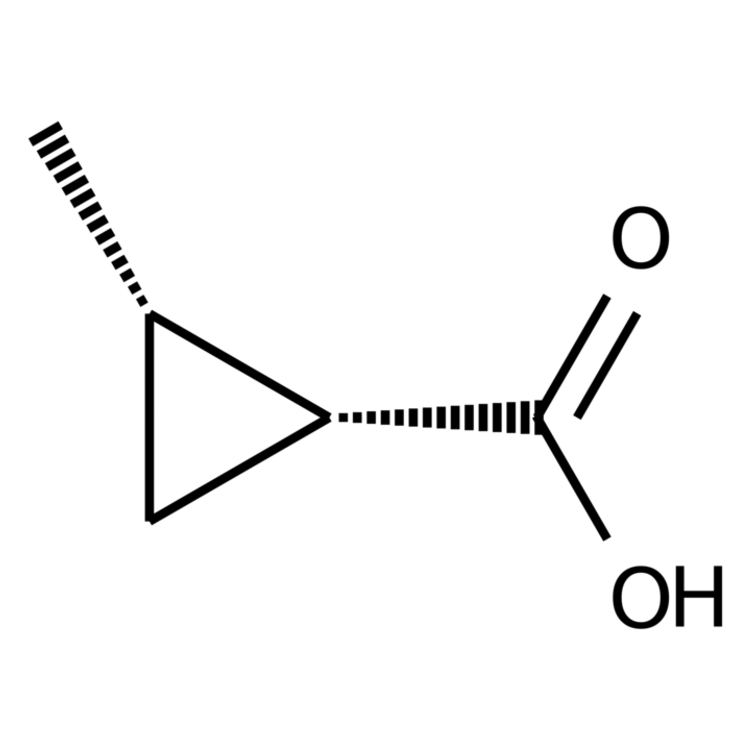 (1R,2S)-2-methylcyclopropane-1-carboxylic acid