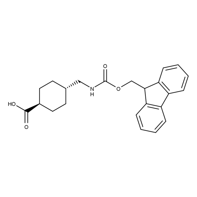(1R,4R)-4-(((((9H-Fluoren-9-yl)methoxy)carbonyl)amino)methyl)cyclohexanecarboxylic acid