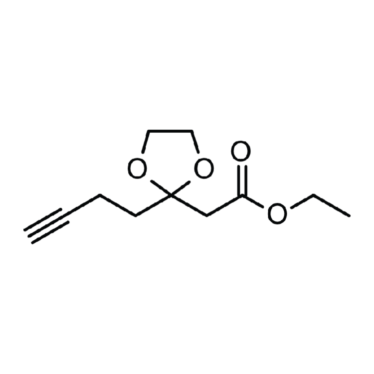 Ethyl 2-(2-but-3-ynyl-1,3-dioxolan-2-yl)acetate